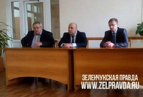 Зеленчукский район посетил Министр здравоохранения КЧР Шаманов Казим Азреталиевич