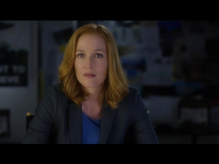 THE X-FILES  Show  Not Tell Gillian Anderson