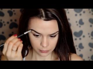 MW ♡ Вечерний МАКИЯЖ ♡ КИМ КАРДАШЬЯН ♡ makeup tutorial ♡ Мария Вэй ♡ Maria Way Вей -D