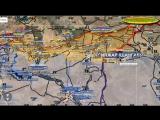 Видео обзор карты боевых действий в Сирии за 20.11.2015 от Андрея Бармина