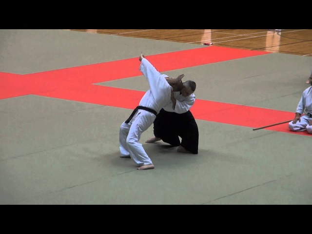 第60回演武会 養神館 シベリア(昇雪館) -2015 Demo Siberian Yoshinkan Aikido Federation (shousetsukan)