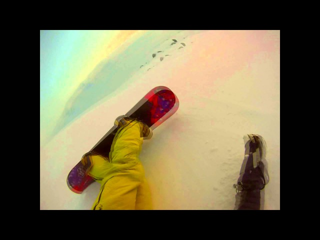 Best snowboarding from CHUKOTKA