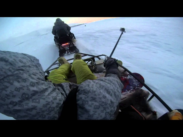 Best snowboarding from CHUKOTKA 4