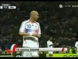 Удар Зидана. Италия-Франция.Финал.ЧМ по футболу 2006