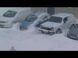 Нива по снегу!!!.wmv