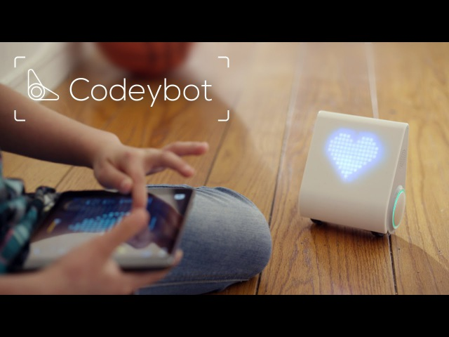 Codeybot: Meet The Robot Who Teaches Kids To Code!