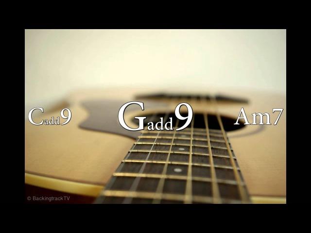 6/8 Pop Ballad Guitar Backing Track in E Minor / G Major