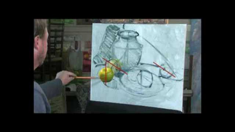 How to Oil Paint, Oil Painting Demo by Don Sahli