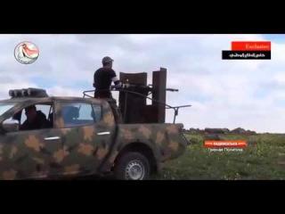 Сирия Война 2015   Национальная армия в тяжёлых боях против боевиков  игил Сирия