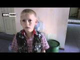 Ребенок из Первомайска рассказывает про обстрелы и о том, как он прятался в подвале