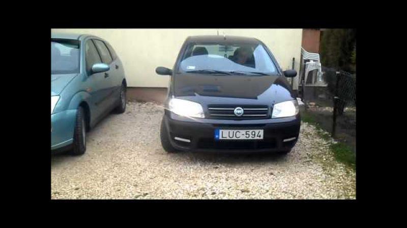 Nappali menetfény index funkcióval (DRL) Fiat Punto 1.3 MultiJet