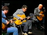 THE GREAT GUITARS  Barney Kessel, Charly Bird &amp Tal Farlow at ZDF Jazz Club '88 (100)