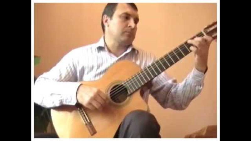 Трава у дома, Земляне, переложение для гитары