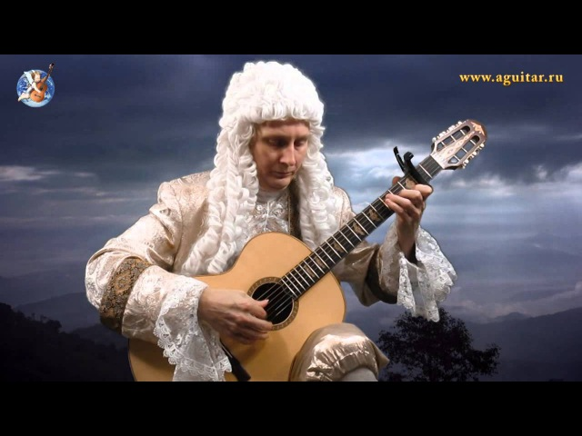 J. S. Bach Air (Fingerstyle guitar) - играет Вячеслав Шувалов