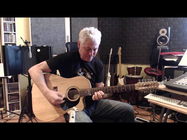 Michael Fix: Bach's Tocatta on 12 string guitar