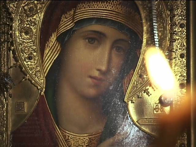 Афонские иконы в Александро-Невской Лавре