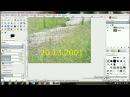 3 способа удалить дату с фотографии Видеоурок GIMP