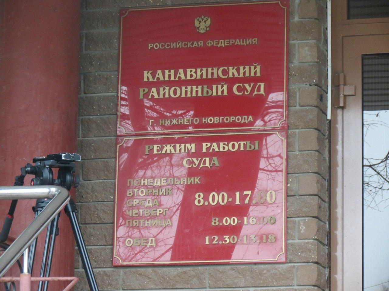 Мировые судьи Нижегородского района г. Нижний Новгород: участки