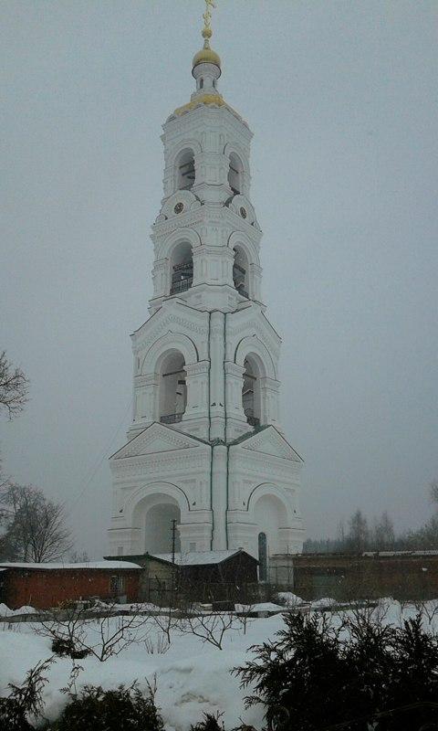 Николо-Берлюковский монастырь. Колокольня