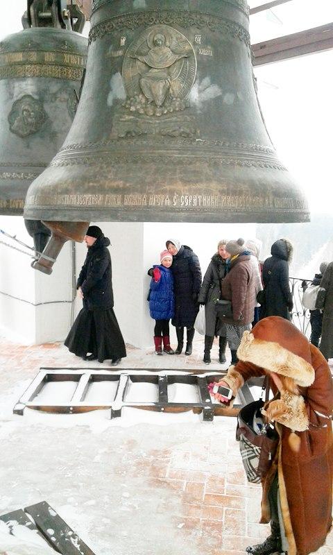 Николо-Берлюковский монастырь. Колокольня. Дошли до второго яруса...