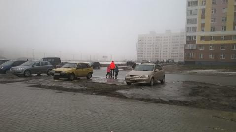 Жители Нижнекамска просят власти установить пешеходный переход на улице 30 лет Победы