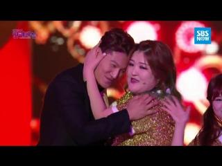 [2015 SAF] SBS Entertainment Awards - Комедиантки и 'Беглецы'