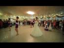 Зажигательный танец невесты и подружек