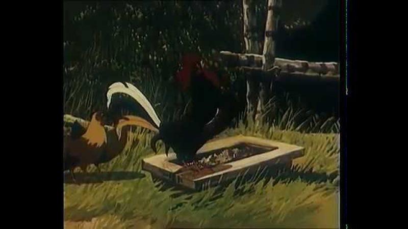 Ворона и лисица , Кукушка и петух Басни. Союзмультфильм.
