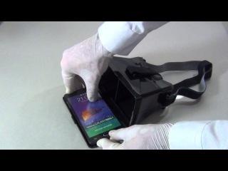 Шлем виртуальной реальности из смартфона своими руками