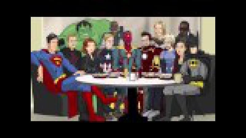 Как следовало закончить фильм Мстители: Эра Альтрона часть 2 (Русская озвучка)