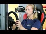 RaceRoom Audi Sport TT Cup Physics Development with Mikaela Ahlin Kottulinsky Rus Sub