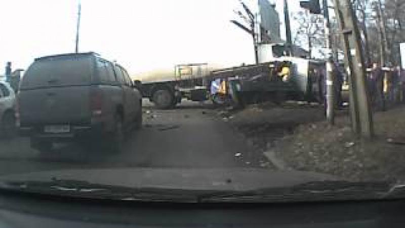 Авария на Рабочей 19.12.14 Днепропетровск