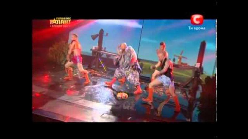 Коллектив «Candyman» «Україна має талант-5» Второй прямой эфир