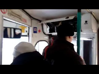 Нарушение техники безопасности правил перевозки пассажиров в троллейбусе 2302