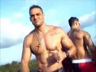 Muscle Men Brazilians Dance on Gay Pride Float