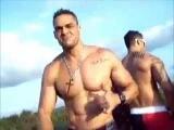 Muscle Men Brazilians Dance on Gay Pride Float