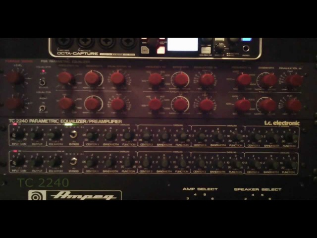 Furman PQ6 vs TC 2240 Parametric EQ's