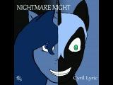 Cyril the Wolf - Nightmare Night (Symphonic DeathBlackScreamMom Metal Cover)