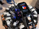 The CubeStormer 2 World Record Rubik's Cube Solver made from LEGO NXT Mindstorms