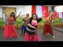 Новогодний танец шикарный восточный танец живота арабский танец Belly Dance