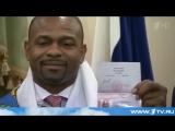 Звезда мирового бокса Рой Джонс-младший получил российский паспорт