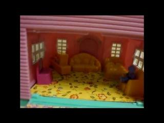 Видео обзоры детских игрушек - Домик для девочки принцессы | Игрушечный с мебелью (kidtoy.in.ua)