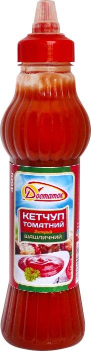 """Кетчуп """"Шашличний"""" /Достаток/, 460 г"""