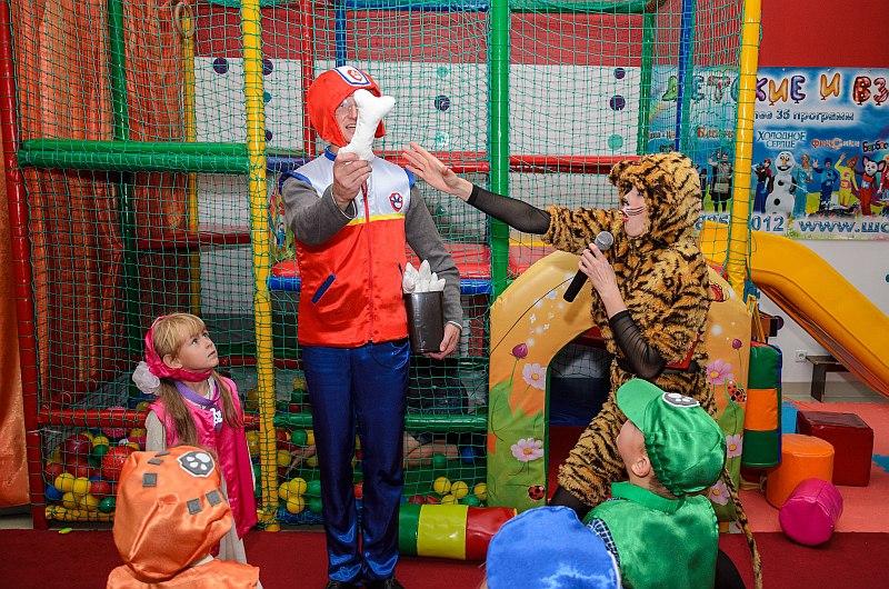 детский праздник, щенячий патруль, Севастополь