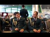 Новогодний сюрприз от военных музыкантов Центрального оркестра НВПЦ ВС РК