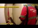 Киевская полиция задержала пьяного СБУшника, избивавшего тёщу