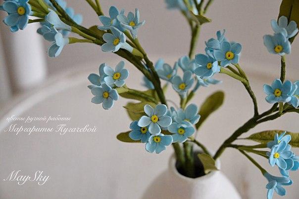 Реалистичные цветы ручной работы полимерная глина… (4 фото) - картинка