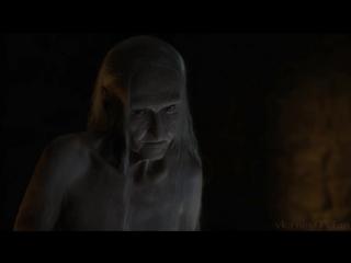 Голая Мелисандра (Кэрис ван Хаутен / Carice van Houten) в сериале