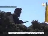 Vk.com/Hezbollah313 | Hezbollahs Flag Fluttering In Al Qalamoun <3