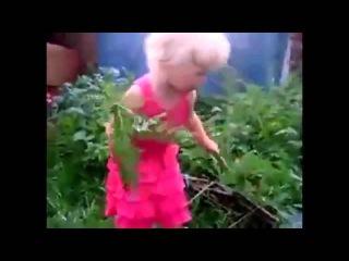 Маленькая девочка матерится видео приколы с детьми онлайн